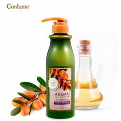 Welcos Confume Argan Treatment Aqua Hair Serum - Аква-сыворотка с аргановым маслом для сухих и жестких волос, 500мл