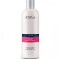 Indola Innova Color Shampooing Silver - Шампунь, придающий серебристый оттенок волосам 300 мл