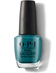 OPI Grease collection - Лак для ногтей Teal Me More, Teal Me More, 15 мл