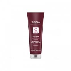 Tefia Color Mask Gold - Оттеночная маска для волос с маслом монои Золотая, 250 мл