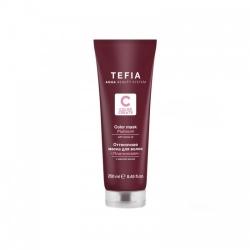 Tefia Color Mask Platinum - Оттеночная маска для волос с маслом монои Платиновая, 250 мл