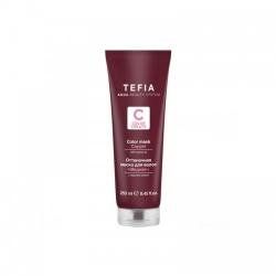 Tefia Color Mask Copper - Оттеночная маска для волос с маслом монои Медная, 250 мл