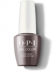 OPI Iceland Gel Color - Гель-Лак для ногтей That's What Friends Are Thor, 15 мл