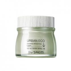 The Saem Urban Eco Harakeke Whitening Cream - Крем осветляющий с экстрактом новозеландского льна, 60мл