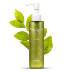 The Skin House Natural GreenTea Cleansing Oil  - Масло гидрофильное с экстрактом зеленого чая, 150 мл