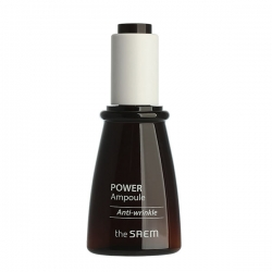The Saem POWER AMPOULE Anti-Wrinkle - Сыворотка  ампульная антивозрастная, 35 мл