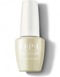OPI Iceland Gel Color - Гель-Лак для ногтей This Isn't Greenland, 15 мл