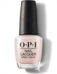 OPI Always Bare for You - Лак для ногтей Throw Me A Kiss — жемчужный розовый оттенок, 15 мл