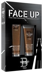 TIGI Bed Head Набор мужской Гладкий я (бальзам для волос и бороды 100 мл, бальзам охлаждающий после бритья 125 мл)