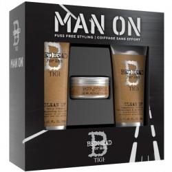 TIGI Bed Head Набор мужской для волос DANDY (шампунь 250 мл, кондиционер 200 мл, воск 85 г)