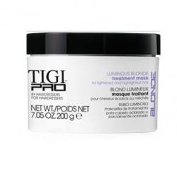 Tigi Pro Luminous Blonde - Маска для осветленных волос, 200 г