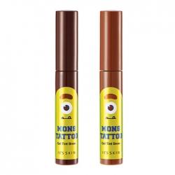 It's Skin MonsTattoo Gel Tint Brow - Тинт для бровей тон 01 , темно-коричневый, 10мл