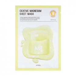 A'Pieu Cicative Magnesium Sheet Mask - Тканевая маска с магнием, 22 мл