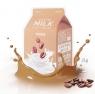 A'Pieu Coffee Milk One-Pack - Тканевая маска Укрепляющая с коллагеном и экстрактом кофе, 21 мл