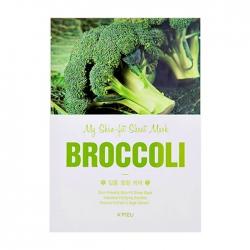A'Pieu My Skin-Fit Sheet Mask Broccoli - Тканевая маска для лица с экстрактом брокколи, 25мл