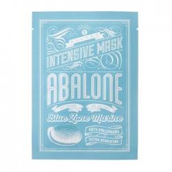 Blithe Blue Zone Marine Intensive Mask Abalone - Маска тканевая интенсивная увлажняющая «Моллюск», 25 г