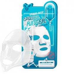 Elizavecca Aqua Deep Power Ringer Mask Pack - Тканевая маска Увлажняющая с гиалуроновой кислотой, 23 мл