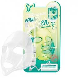 Elizavecca Centella Asiatica Deep Power Ringer Mask Pack - Тканевая маска Стимулирующая с экстрактом центеллы азиатской, 23 мл