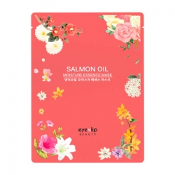 Eyenlip Salmon Wrinkle Essence Mask - Маска для лица тканевая с экстрактом лососевого масла, 25 мл