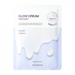 It's Skin Glow Cream Mask Sheet - Тканевая маскадля придания сияния коже, 24 мл