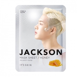 It's Skin Jackson Honey Mask Sheet - Тканевая маска Питательная с экстрактом мёда, 20 мл