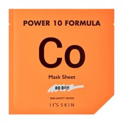 It's Skin Power 10 Formula Co Mask Sheet - Тканевая маска Коллагеновая высококонцентрированная, 25 мл