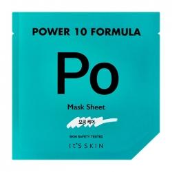 It's Skin Power 10 Formula Po Mask Sheet - Тканевая маска  Сужающая поры высококонцентрированная, 25 мл