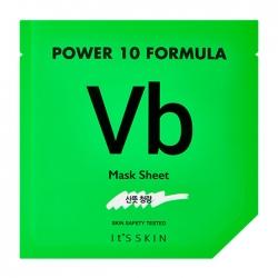 It's Skin Power 10 Formula Vb Mask Sheet - Тканевая маска для лица для проблемной кожи, 25 мл
