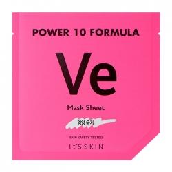 It's Skin Power 10 Formula Ve Mask Sheet - Тканевая маска Питательная высококонцентрированная, 25 мл