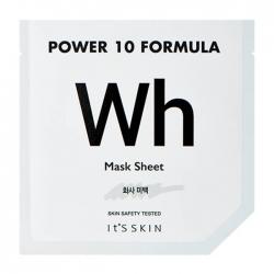 It's Skin Power 10 Formula Wh Mask Sheet - Тканевая маска Осветляющая высококонцентрированная, 25 мл