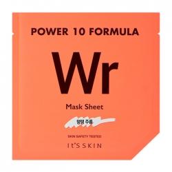 It's Skin Power 10 Formula Wr Mask Sheet - Тканевая маска Подтягивающая высококонцентрированная, 25 мл
