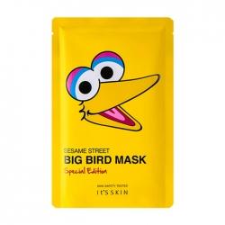 """It's Skin Sesame Street Mask Special Edition Big Bird - Тканевая маска для лица из лимитированной коллекции """"Улица Сезам"""", 20 мл"""