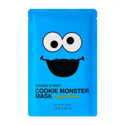 "It's Skin Sesame Street Mask Special Edition Cookie Monster - Тканевая маска для лица из лимитированной коллекции ""Улица Сезам"", 20 мл"