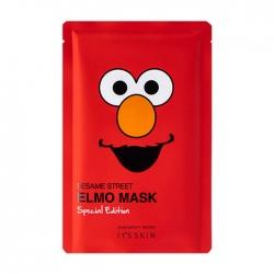 """It's Skin Sesame Street Mask Special Edition Elmo - Тканевая маска для лица из лимитированной коллекции """"Улица Сезам"""", 20 мл"""