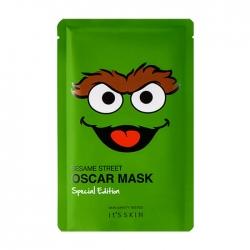 """It's Skin Sesame Street Mask Special Edition Oscar - Тканевая маска для лица из лимитированной коллекции """"Улица Сезам"""", 20 мл"""