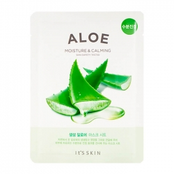 It's Skin The Fresh Aloe Mask Sheet - Тканевая маска с экстрактом алоэ вера, 19 мл