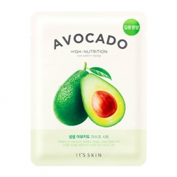 It's Skin The Fresh Avocado Mask Sheet - Тканевая маска с экстрактом авакадо, 19 мл
