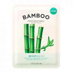 It's Skin The Fresh Bamboo Mask Sheet - Тканевая маска с экстрактом бамбука, 19 мл