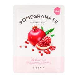 It's Skin The Fresh Pomegrante Mask Sheet - Тканевая маска с экстрактом граната, 19 мл