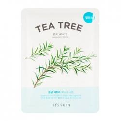 It's Skin The Fresh Tea Tree Mask Sheet - Тканевая маска с экстрактом чайного дерева, 19 мл