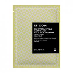 Mizon Enjoy Vital-Up Time Calming Mask - Маска листовая для лица успокаивающая, 25 мл