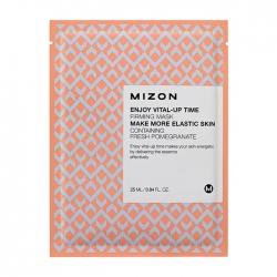 Mizon Enjoy Vital-Up Time Firming Mask - Маска листовая для лица укрепляющая с экстрактом граната, 25 мл