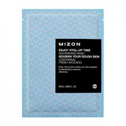 Mizon Enjoy Vital-Up Time Nourishing Mask - Маска листовая для лица питательная с экстрактом авокадо, 25 мл