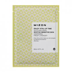 Mizon Enjoy Vital-Up Time Soothing Mask - Маска листовая для лица укрепляющая, 25 мл