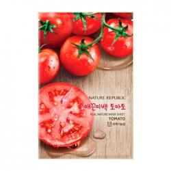 Nature Republic Real Nature Mask Sheet Tomato - Тканевая маска для лица с экстрактом томатов, 23мл