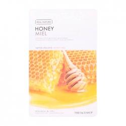 The Face Shop Real Nature Honey Face Mask - Тканевая маска с экстрактом мёда, 20 мл