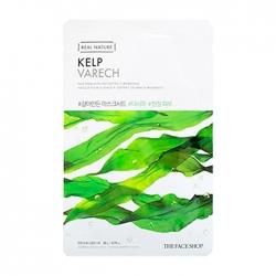 The Face Shop Real Nature Kelp Face Mask - Тканевая маска для лица с экстрактом ламинарии, 20 мл
