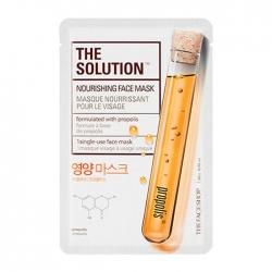 The Face Shop The Solution Nourishing Face Mask - Тканевая маска Питательная, 20 мл