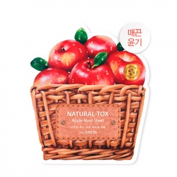 The Saem Natural-tox Apple - Тканевая маска для лица с экстрактом яблока, 20 г