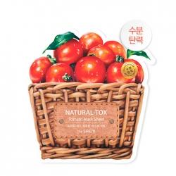 The Saem Natural-tox Tomato - Тканевая маска для лица с экстрактом томата, 20 г